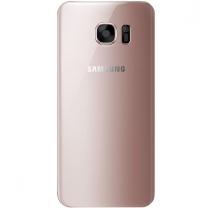GALAXY S7 SM-G930F : Vitre arrière Rose Or cache batterie Officiel Samsung