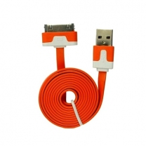 Câble USB iPhone Orange 30 broches - accessoire
