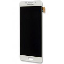 Galaxy A5 (2016) SM-A510F : Vitre Ecran complet Blanc - Officiel Samsung