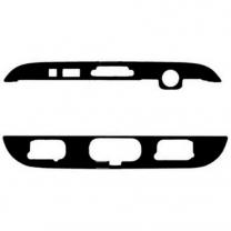 Galaxy S7 EDGE SM-G935F : Sticker Haut Bas pour vitre