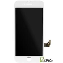 iPhone 7 : Ecran Blanc LCD + vitre tactile assemblés