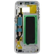Galaxy S7 Edge SM-G935F : Châssis central métallique contour argent silver