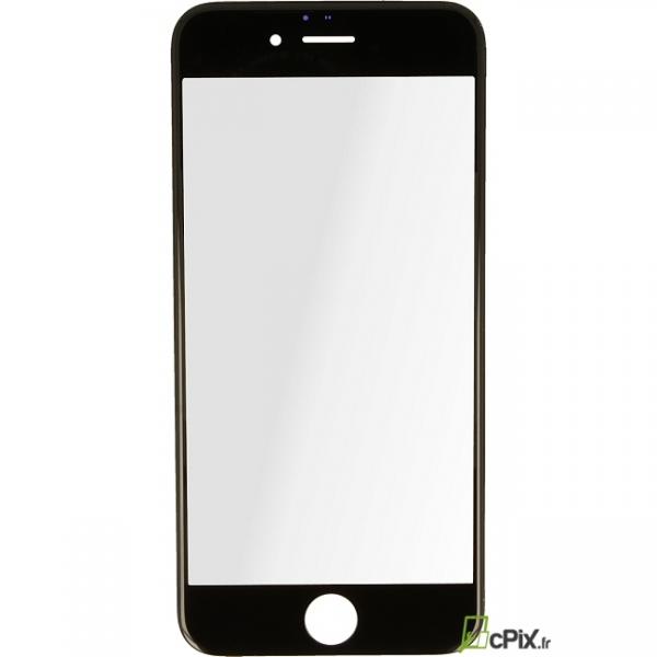 iPhone 6 : Vitre sur châssis Noir assemblé