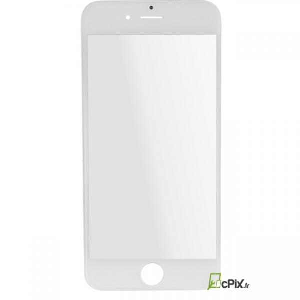 iPhone 6 : Vitre sur châssis Blanc assemblé