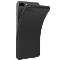 iPhone 7 Plus : Coque Noire souple TPU silicone