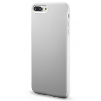 iPhone 7 Plus : Coque Blanche souple TPU silicone