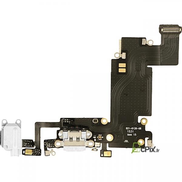 connecteur charge iphone 6s plus blanc pour recharger neuf en stock. Black Bedroom Furniture Sets. Home Design Ideas