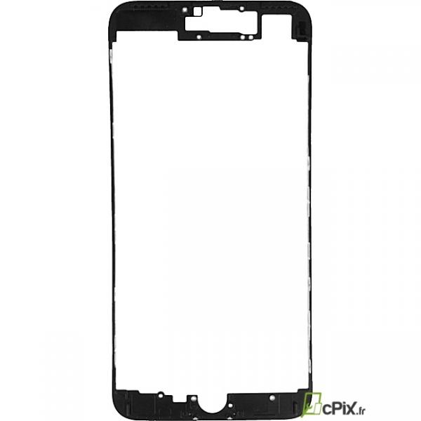 iPhone 7 : Châssis d'écran noir (Bezel frame)