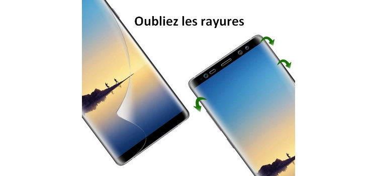 Galaxy Note8 : Film de protection écran