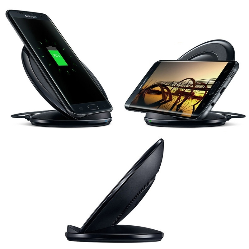 chargeur sans fil induction fast charge galaxy iphone note. Black Bedroom Furniture Sets. Home Design Ideas