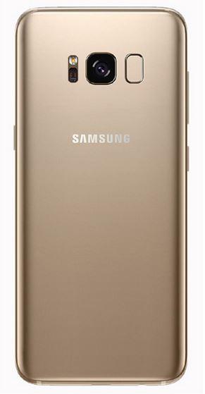 Galaxy S8 SM-G950F : Vitre arrière or (Gold) Samsung Officiel