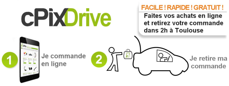 cPix : Service Drive pièces détachées iPhone iPad Samsung à Toulouse