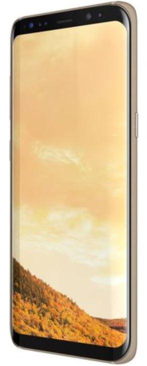 Vitre écran Or Galaxy S8 en pièce de rechange , Neuf