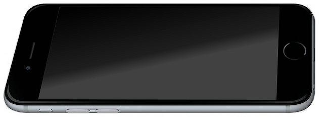 vitre noire iphone 6