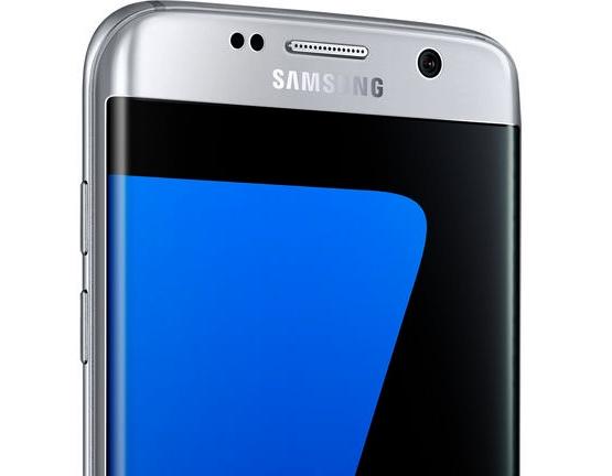 écran du Galaxy S7 Edge Silver est de 5,5 pouces