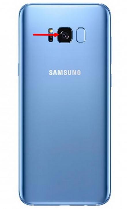 Lentille verre de remplacement photo S8 et S8 Plus Galaxy