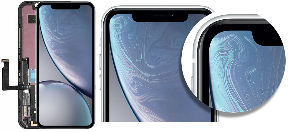 Acheter vitre écran iPhone 10R de rechange
