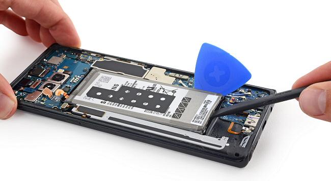 Remplacer sa batterie de Note8