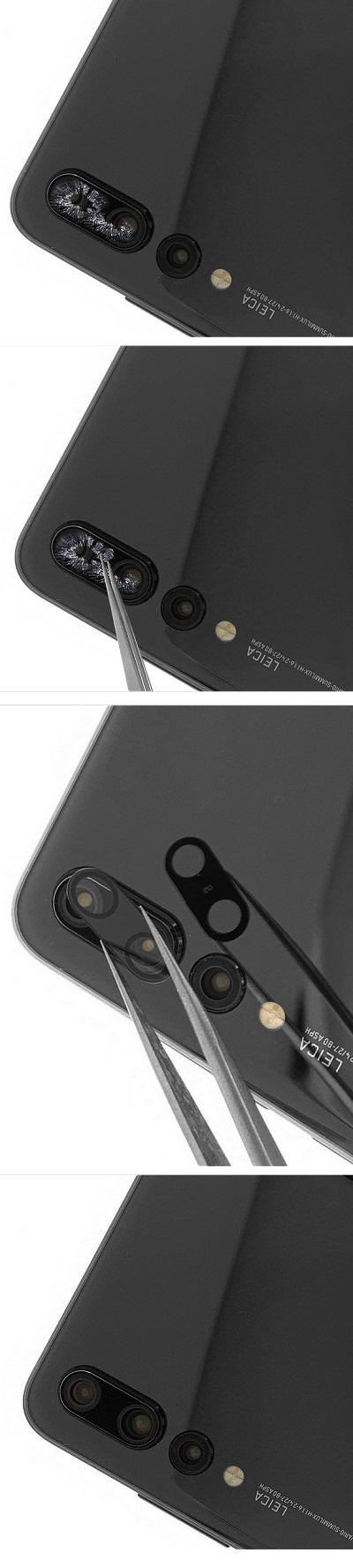 Comment réparer la lentille du Huawei P20 Pro