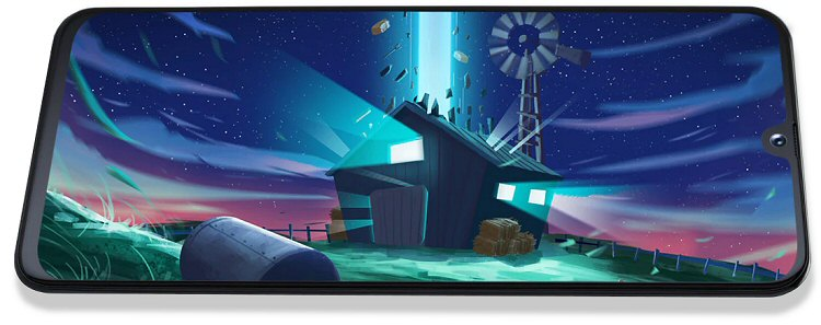 Galaxy A40 (SM-A405) : Vitre écran de rechange. Officiel Samsung