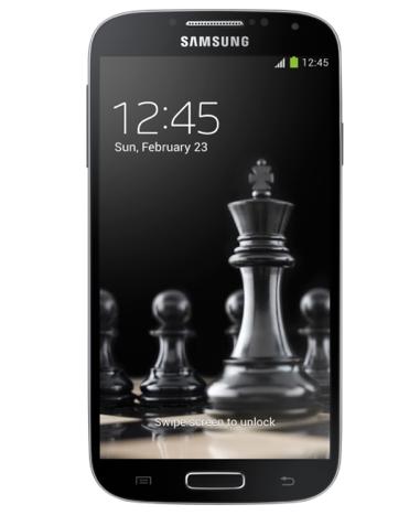 Samsung Galaxy S4 4G / GT-i9505 : Ecran complet BLACK EDITION