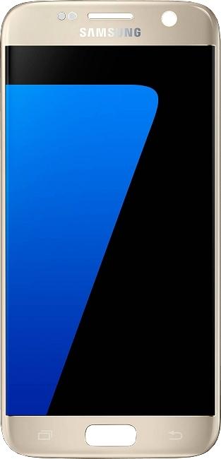 Galaxy S7 SM-G930F : Vitre écran complet or (Gold) Officiel Samsung