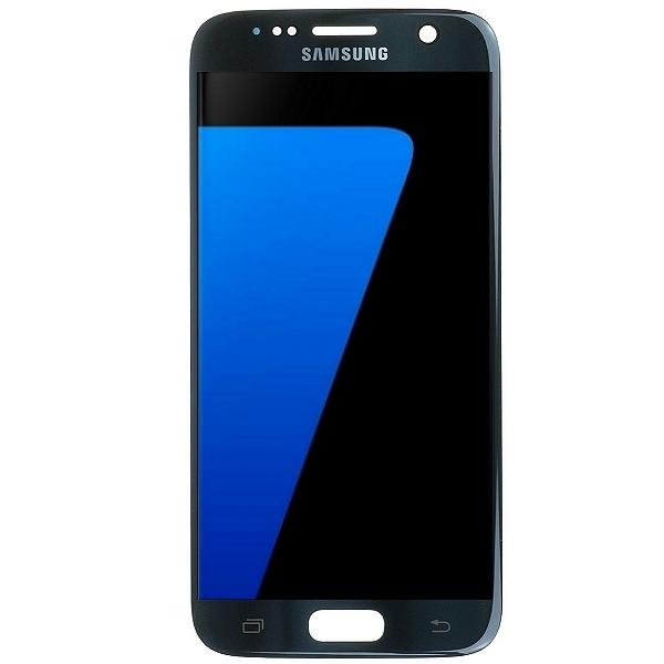 Samsung Galaxy S7 SM-G930F : Écran complet noir GH97-18523A