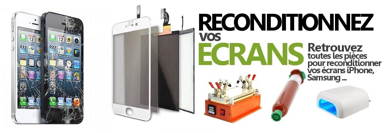 Machine à reconditionner les écrans iPhone, colle LOCA, backlight, filtre polarisant, film OCA, vitres, adhesif... sur cPix.fr