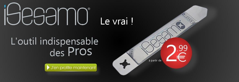 iSesamo Spatule inox pour réparation de smartphone