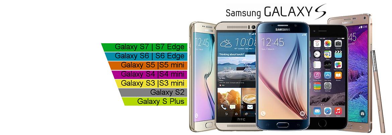 Nos écrans Samsung Galaxy S
