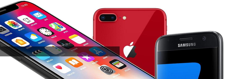 Vente de smartphones d'occasion : iPhone, Samsung Galaxy